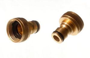 Ctn-Von-10-Wasserhahn-Adapter-Snap-Fuer-13Mm-Zubehoer-Schlauchanschluss-Solide