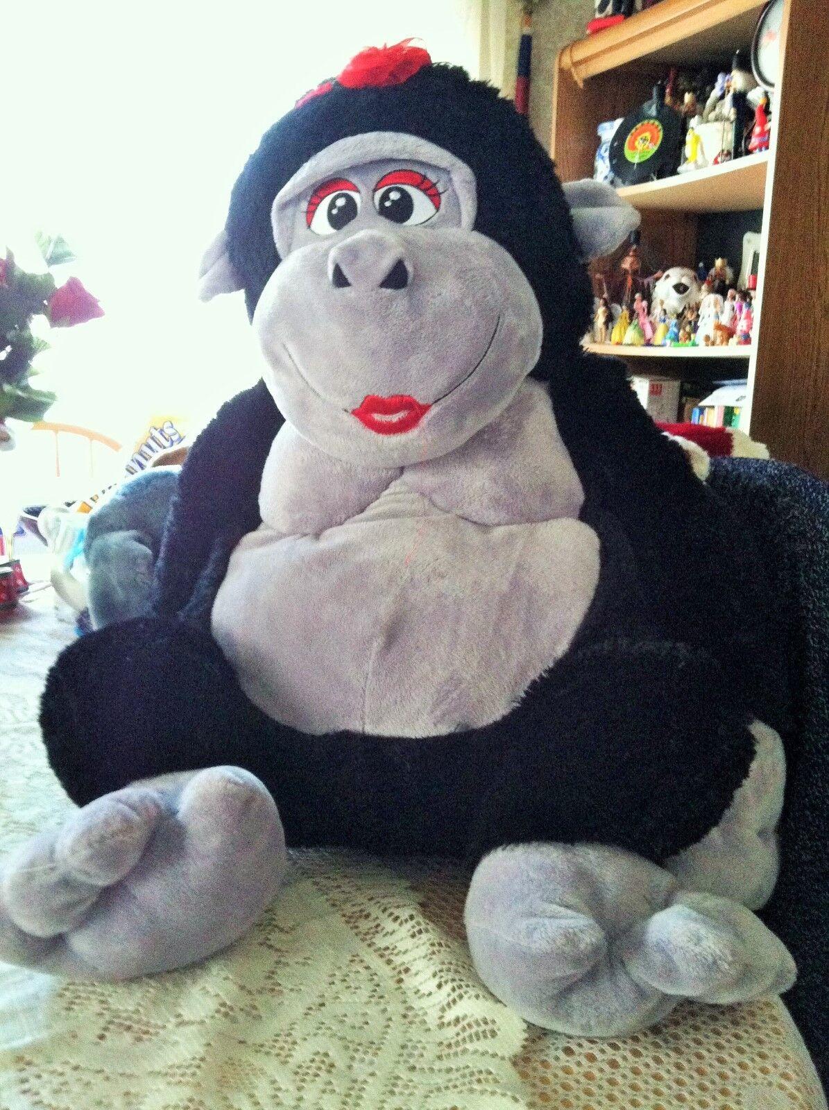 LARGE Jumbo Jungle   Gorilla/Ape   Plush hard to find