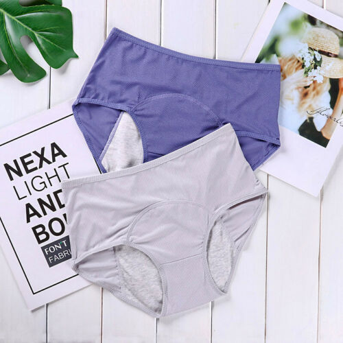 Women Briefs Panties Menstrual Period Physiological Leak proof Underwear Panty