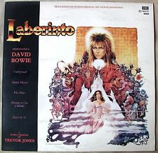 DAVID BOWIE LABYRINTH OST TOP RARE SOUTHAMERICA Edition 1986 Spanish Title