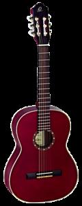 Ortega R121 3//4 WR Konzertgitarre Weinrot