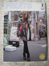 FRUITS MAGAZINE NO.139 2 2009 FASHION JROCK JAPAN EMO VISUAL KEI COSPLAY LOLITA