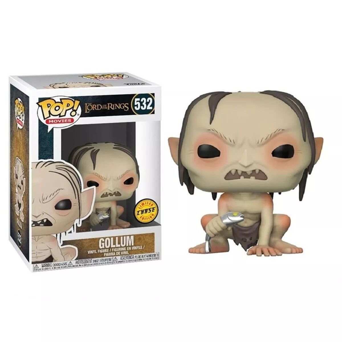 Funko POP - Movies - Lord Of The Rings - 532 Gollum CHASE