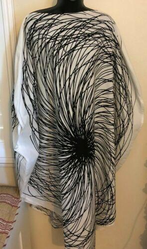 Amazing Black and White Circle Dress  By Vuokko Nu
