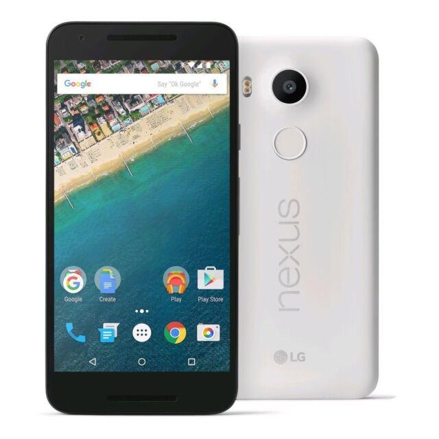 """LG Nexus 5 16GB GPS 4.95"""" Android 6.0 Quad Core 2GB WIFI Blanco"""