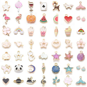 Assorted-Alloy-Enamel-Charms-Pendants-DIY-For-Necklace-Bracelet-Crafting