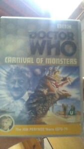 Doctor-Who-Carnival-of-Monsters-DVD-2002-Jon-Pertwee-ORIGINAL-ONE-DISC-ED