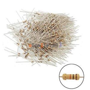 100PCS Film Resistors Resistance 10K Ohms OHM 1/4W 5% Carbon Film Assortment NEW
