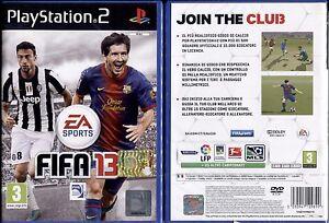 FIFA-13-PS2-NUOVO-E-SIGILLATO-PRIMA-EDIZIONE-ITALIANA-DA-COLLEZIONE-RARO