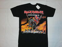 Iron Maiden England Tour T-shirt: S M L Xl 2xl Heavy Metal Rock Skull Demon