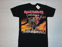 Iron Maiden England Tour T-shirt: S M L Xl 2xl Heavy Metal Rock Skull Demon