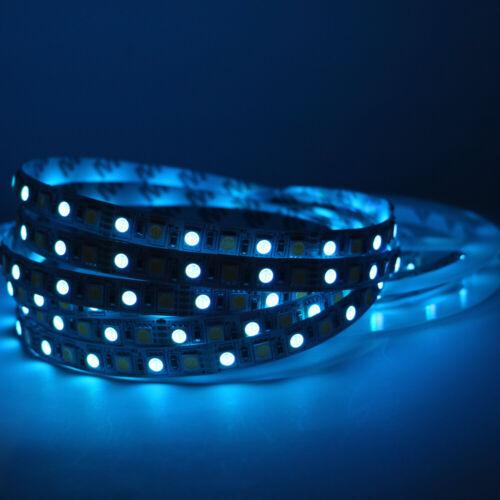 16.4ft 5m 5050 600 LED Strip Lights Warm White RGB CCT RGBW Flexible Stripe lot