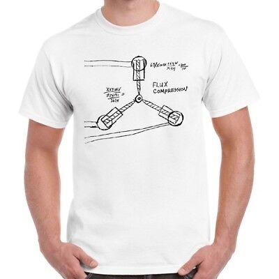 Analitico Ritorno Al Futuro 80s Flusso Canalizzatore Cool Vintage Con T Shirt 134-mostra Il Titolo Originale