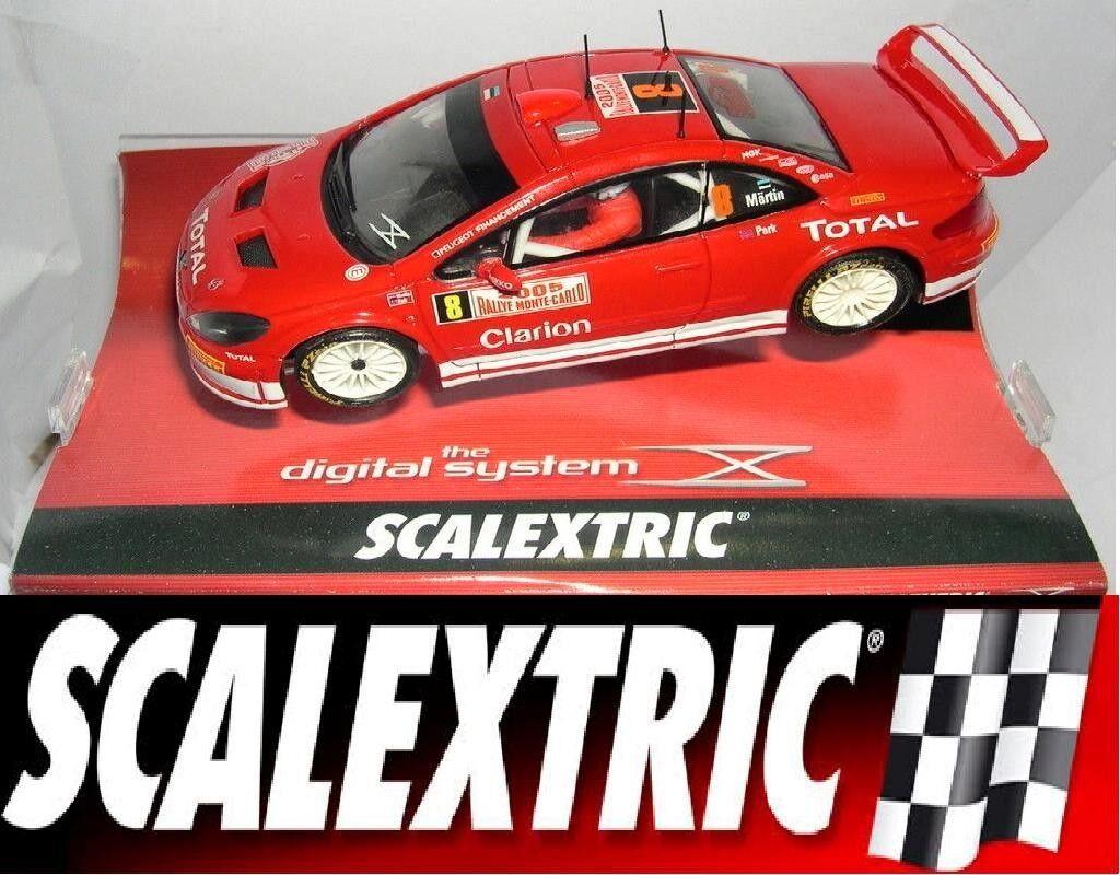 SCX DIGITAL Ref. 13080 PEUGEOT 307 WRC RALLY MONTECARLO 2005 1 32 New