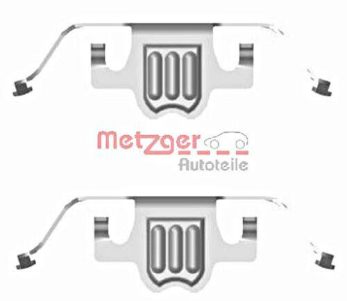Metzger Disc Brake Pads Accessory Kit For BMW X5 X6 E60 E61 E63 34216789352