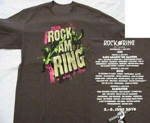 Rock-am-Ring-2010-Bass-Player-T-Shirt-Groesse-Size-XL-Neu