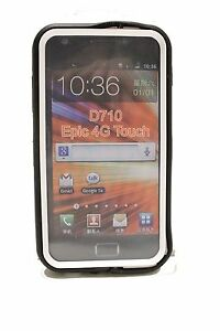 Black-White-Hard-Cover-Case-for-Samsung-Galaxy-S-II-2-Epic-Touch-4G-D710