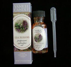 Yankee Candle Lilac Blossoms Potpourri Refresher Oil Nib Rare Awesome 609032421366 Ebay
