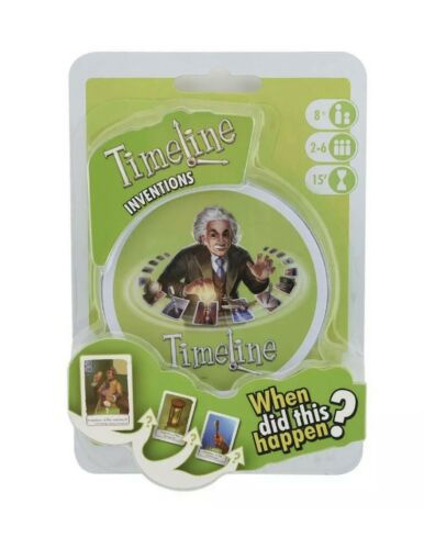 Timeline Inventions Board Game NEW SEALED!