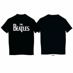 The-Beatles-Original-Drop-T-Logo-Official-Merchandise-T-Shirt-M-L-XL-Neu