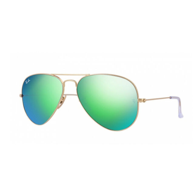 48e8d7991e0cb Ray-Ban Aviator Green Rb3025 112 19 58-14 3n for sale online