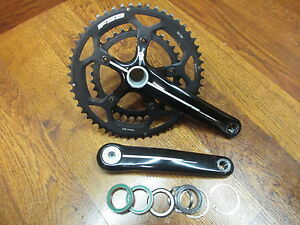BB30 BBright PF30 Road Bike NEW Rotor 2D Crank Arms 110mm bcd COMPACT 170mm