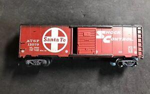 HO-Santa-Fe-Box-Car-By-Tyco-100-Tested-Lot-H164