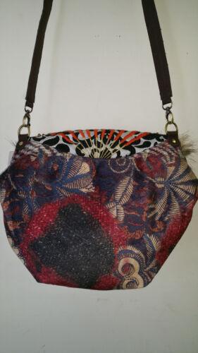 Desigual Authentic Bols Tortuga Shoulder Bag Medium size Multi color Soft