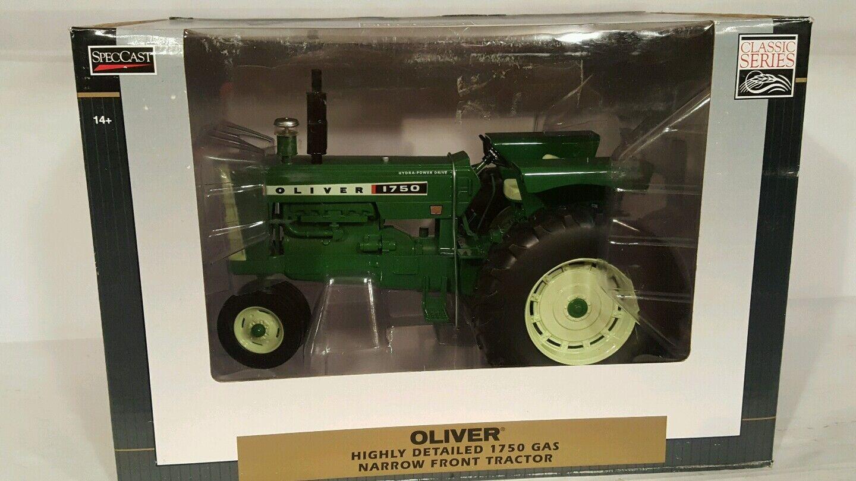 Oliver 1750 gaz NF 1 16 diecast farm tractor réplique par Spec Cast