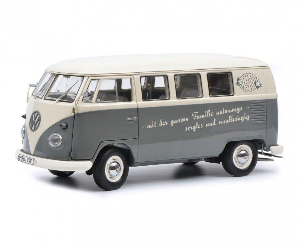 Schuco 1 18 Volkswagen T1b mit der ganzen Familie unterwegs 450037700