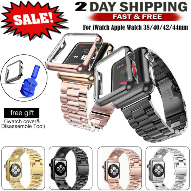 Lunatik Epik Aluminum Case And Metal Link Band For Apple Watch Series 1 For Sale Online Ebay