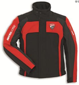 Ducati-Corse-Tex-2-Stoffjacke-Rot-Schwarz-Groesse-52