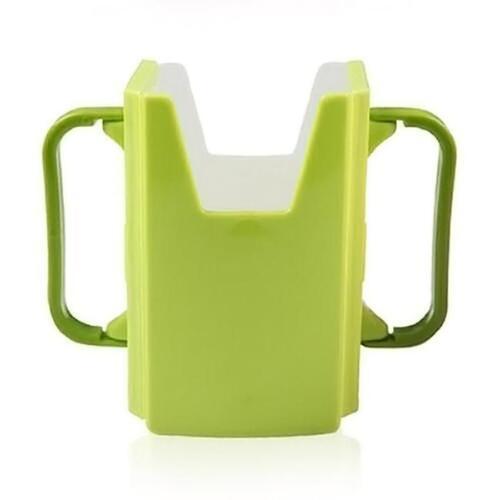 Durable Baby Kids Toddler Self-Help Drink Juice Milk Box Holder Cup Adjustable Q