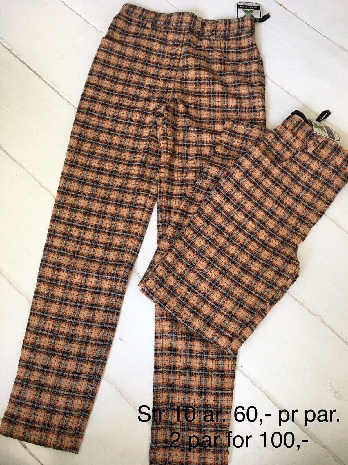 Bukser, Ternede bukser 4 par, Dxel