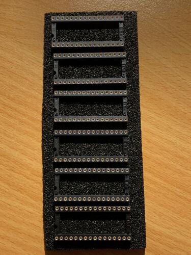 6x Präzisions-IC-Fassung 32-polig Rasterbreite 15,24 mm