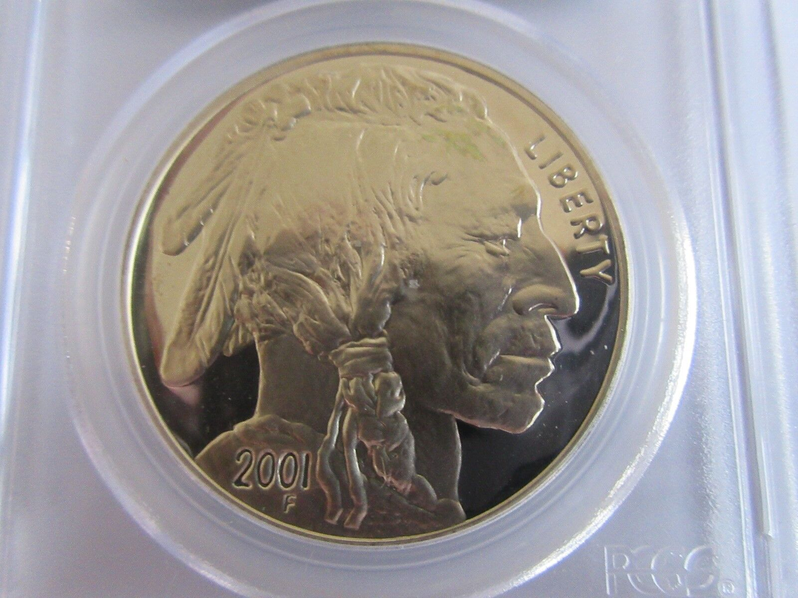 2001-P Black Diamond American Buffalo PCGS PR70DCAM