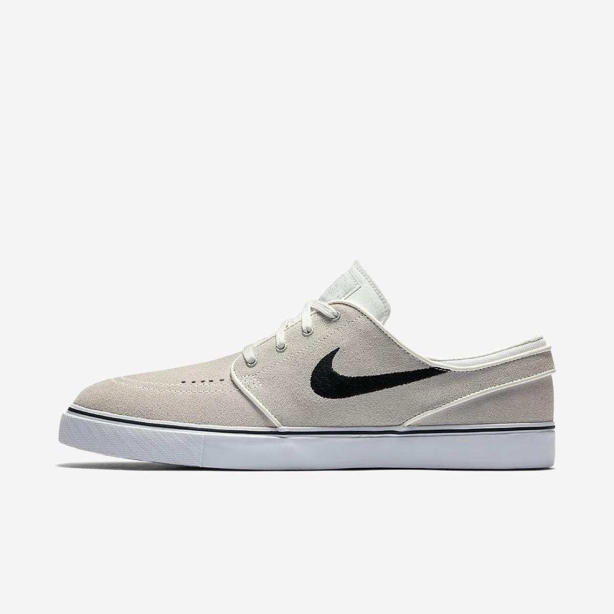 Nike SB Zoom Stefan Janoski Summit White Black 333824 108 New Men's Skate Shoes