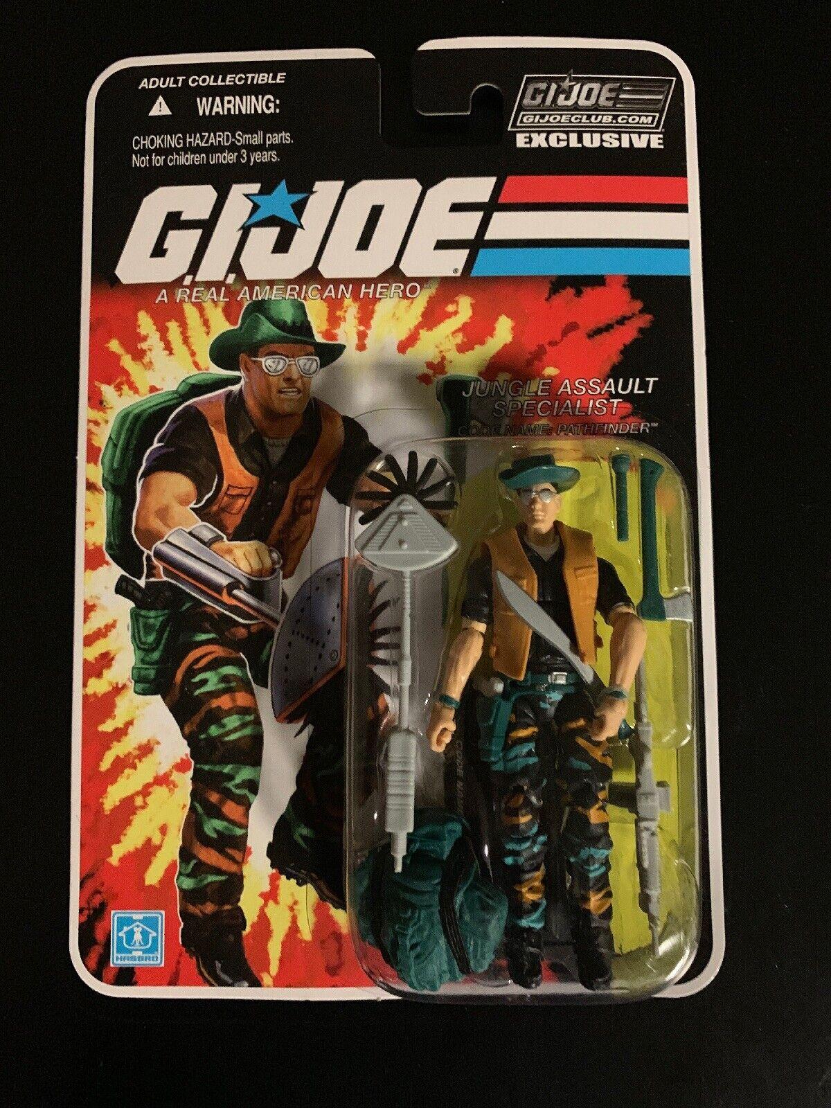 GI JOE FSS 4.0 05 Pathfinder Gijoe Jungle Assault specialeeeist MISP