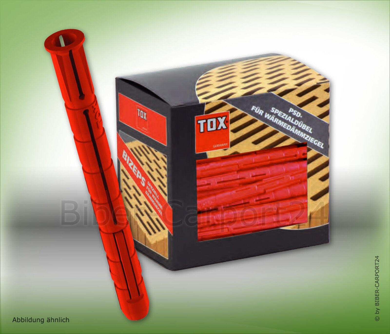 Tox BIZEPS, 6x70-12x90 Parallel-Spreizdübel, 8x90 10x90 PSD Nylon Gewindestangen