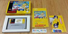 Super Nintendo SNES Street Racer PAL