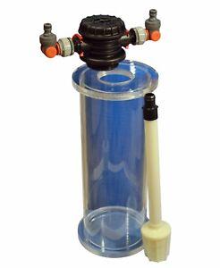Colonne de filtration Fa 500 Aquaristik Pour résine échangeuse d'ions zéolite à charbon actif 5 litres