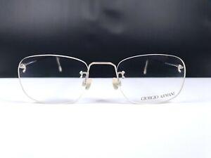 Sparsam Giorgio Armani Brille 3003-1103 Vintage 90s Rimless Eyeglasses Lightweight Frame Lassen Sie Unsere Waren In Die Welt Gehen Brillen
