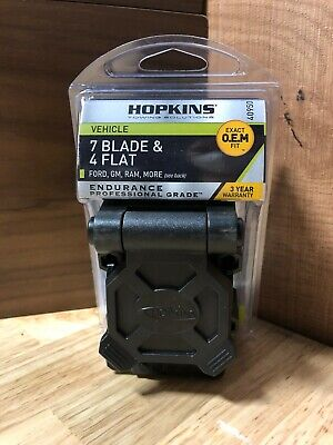 Hopkins Trailer Wire Harness And Connector Model 40950 Ebay