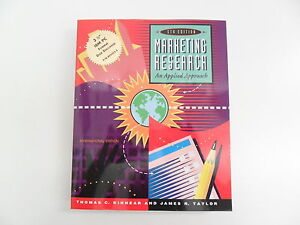 MARKETING-RESEARCH-THOMAS-C-KINNEAR-amp-J-TAYLOR-5TH-ED-1996-WITH-DISK-TEXTBOOK