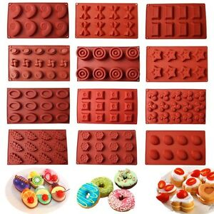Silicone-Donut-Cupcake-Mold-Muffin-Chocolate-Cake-Candy-Cookie-Baking-Mould-Pan