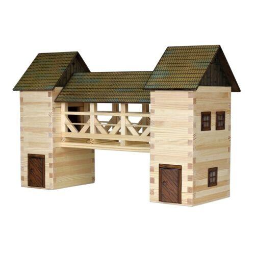 Baukästen & Konstruktion Modellbauset Walachia Nr.26 Brücke Holzmodell Modell für Kinder ab 8 Jahren