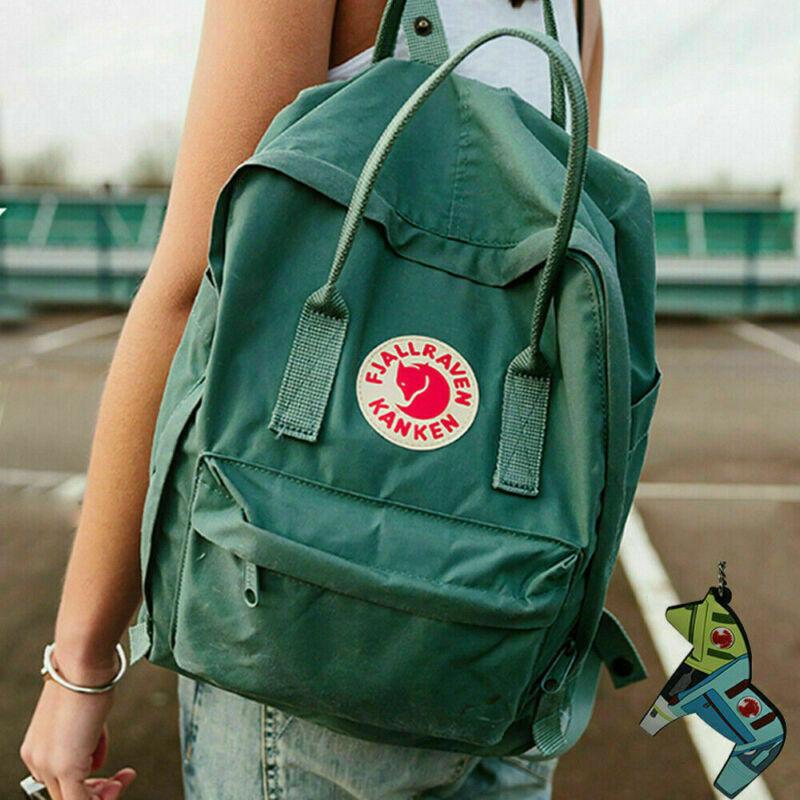 7/16/20 L Fjallraven Kanken Handbag Waterproof Sport Backpack Outdoor Travel Bag 10
