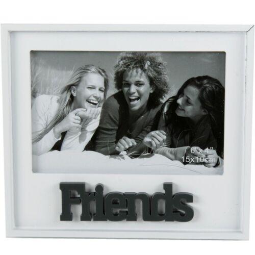"""Fotorahmen /""""Friends/"""" aus Holz Freundschaftsbilderrahmen Bilderrahmen Freunde"""