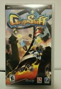 GripShift-Sony-Playstation-PSP-Video-Game-Complete