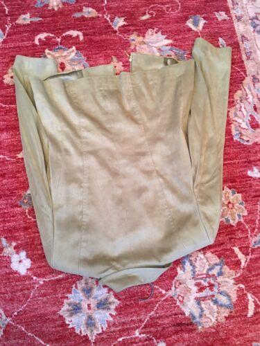 Suede Viyella Ubesmittet 12 Faux Størrelse Zip Front Blazer A1rF51wq
